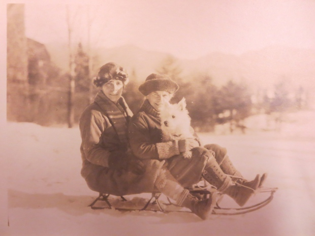 Gildersleeve and Spurgeon toboggan