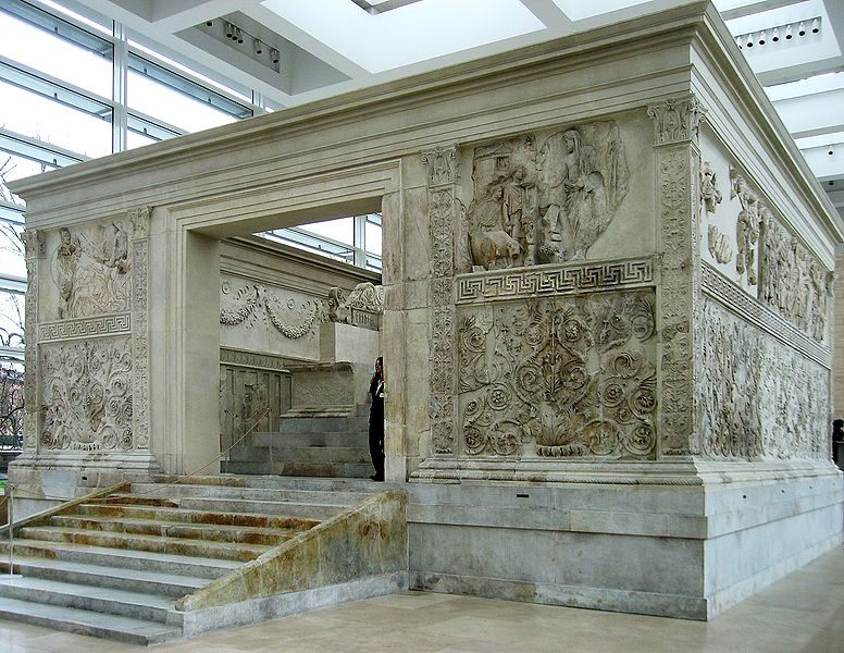 The Ara Pacis in Rome