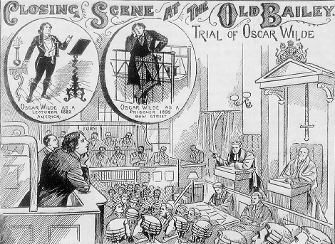 Sketch of Closing Trial Scene: half page (Illus. Police News, 5/4/1895)