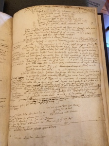 Final page of Casaubon's commentary. Bodleian Library, Oxford. Shelf mark: MS Casaubon 7.