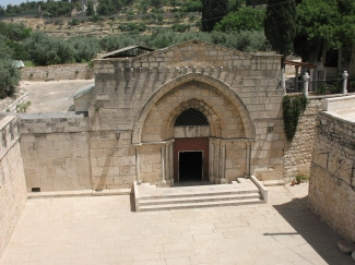 12th-century Church of the Sepulchre of Mary, Jerusalem (Wikimedia