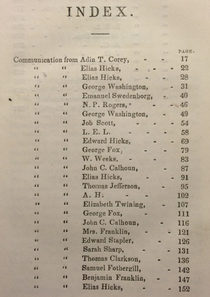 Table of Contents © British Library