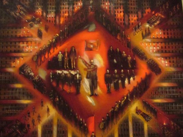 Kliment Redko, Insurrection, 1925 (State Tretyakov Gallery, Moscow)