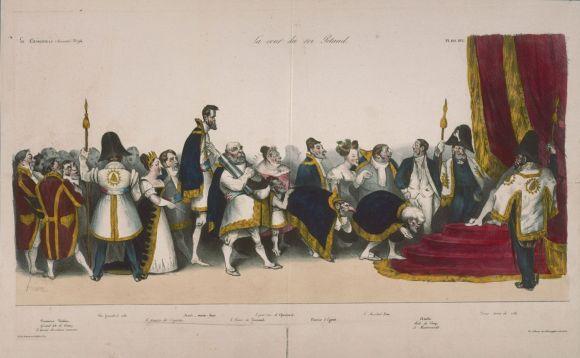 La Cour du roi Pétaud honoré La Caricature 193 23 aout 1832