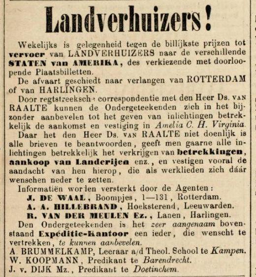 Dutch Immigration Advertisement