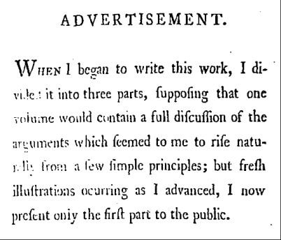 wollstonecraft advert