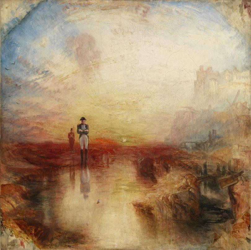 War. The Exile and the Rock Limpet exhibited 1842 by Joseph Mallord William Turner 1775-1851