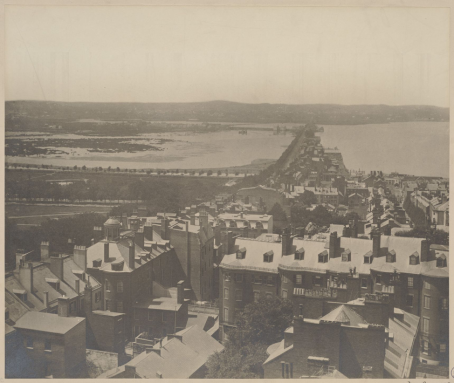 Back bay in 1857