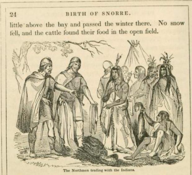 Norse landing