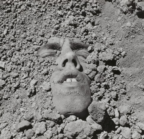 Wojnarowicz Untitled (Face in Dirt) 1992-1993