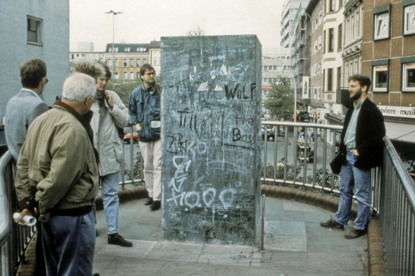 "Esther Shalev-Gerz and Jochen Gerz, ""The Monument Against Fascism,"" 1986"