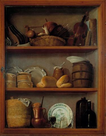 """[1] antonio pérez de aguilar, alacena (ca. 1769). museo nacional de arte, mexico. [page 1, after """"under lock and key.""""]"""