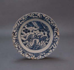 [9] plate, wanli period (c. 1575-1620). gift of joyce p. bishop in honor of her daughter kimberly bishop connors, _92. the reeves collection, washington and lee uni