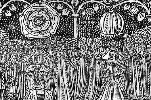 henry_viii_catherine_of_aragon_coronation_woodcut